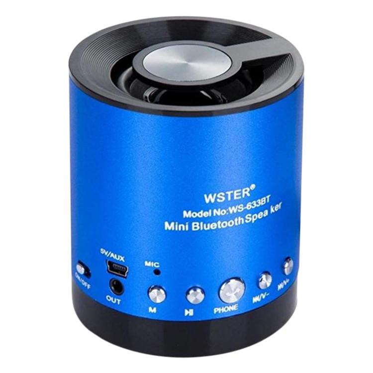 Loa Bluetooth Đa Năng Wster WS-633BT - Hàng Chính Hãng