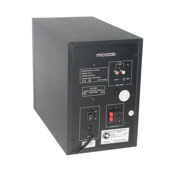 Loa Vi Tính Microlab X-2 2.1 46W - Hàng Chính Hãng