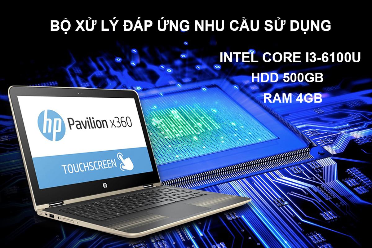 Laptop HP Pavilion X360 11-U047TU-X3C25PA