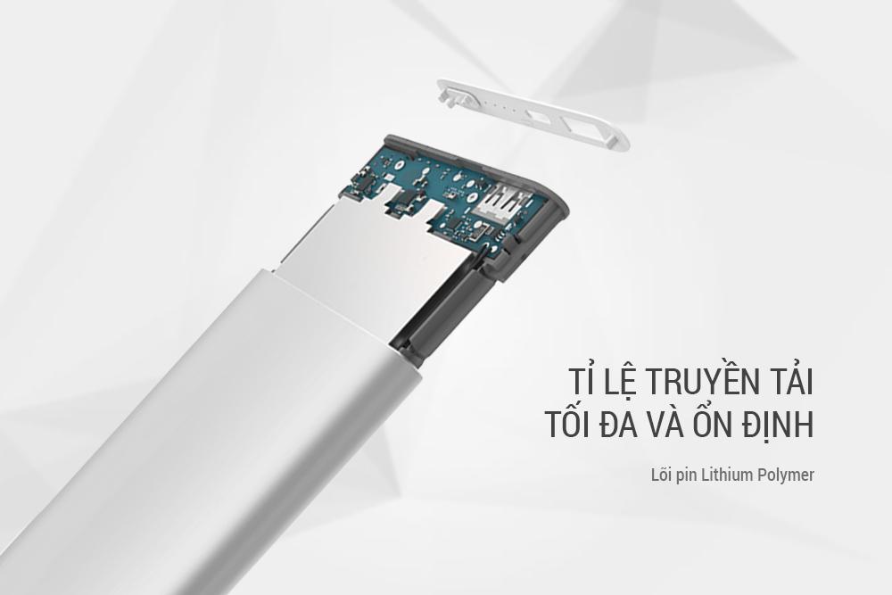 Pin Sạc Dự Phòng Xiaomi Gen 2 - PLM02ZM (10000mAh) - Hàng Chính Hãng