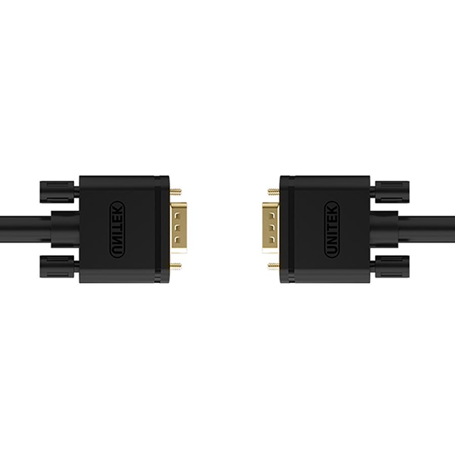 Cáp Chuyển VGA Ra VGA Unitek YC510 (30m) - Hàng Chính Hãng
