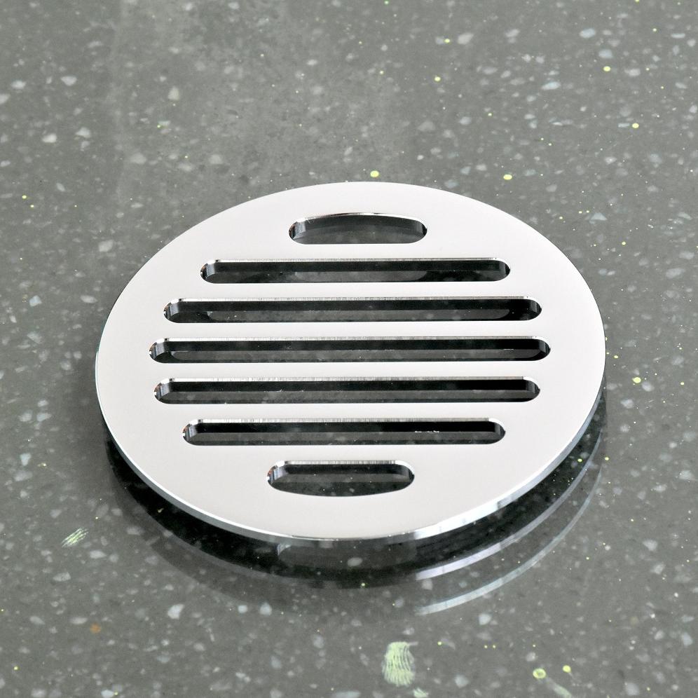 Ga thoát sàn chống trào ngược Hiwin đồng mạ crom chống gỉ cao cấp FD-1101H kích thước 100x100