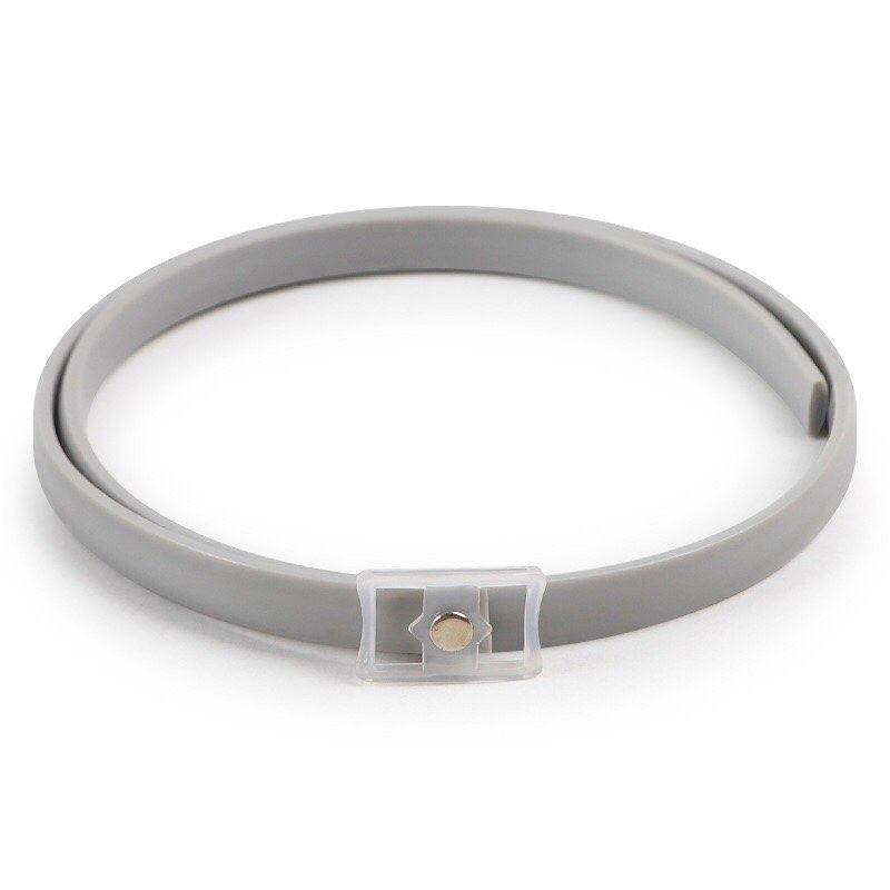 Vòng cổ chống ve rận silicon cho chó mèo (hộp sắt)