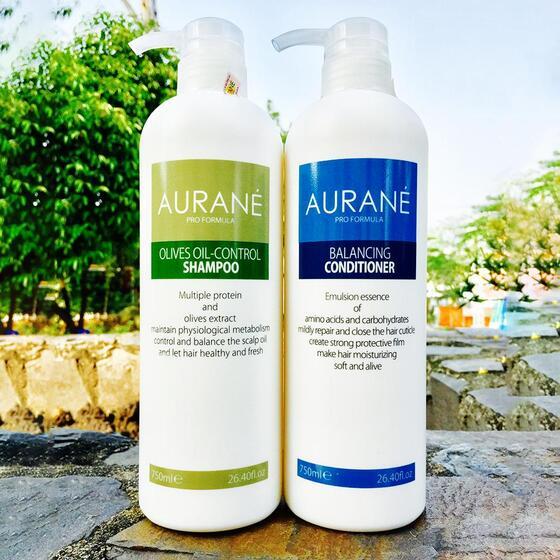 Dầu gội kiểm soát dầu AURANE Olives Oil - Control shampoo 750ml