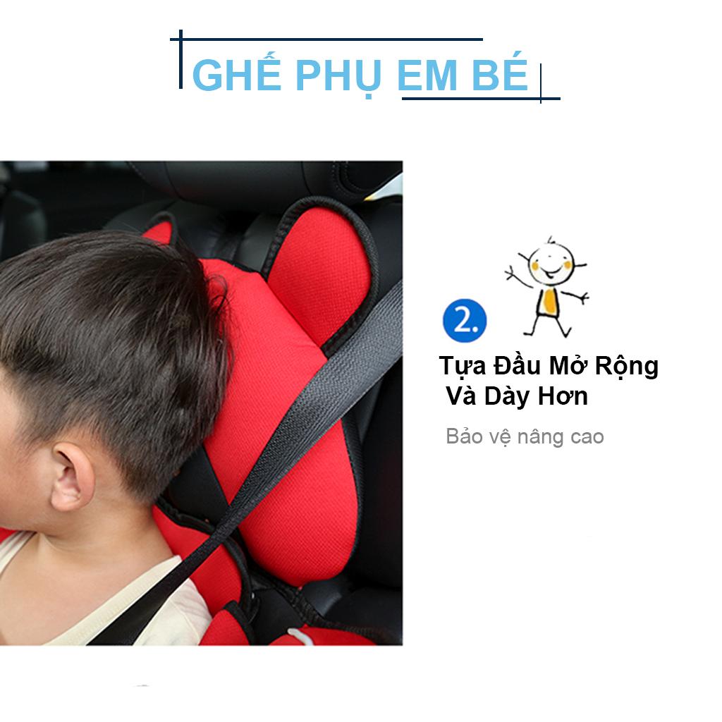 Ghế ngồi phụ trên ô tô, xe hơi bảo vệ an toàn cho bé
