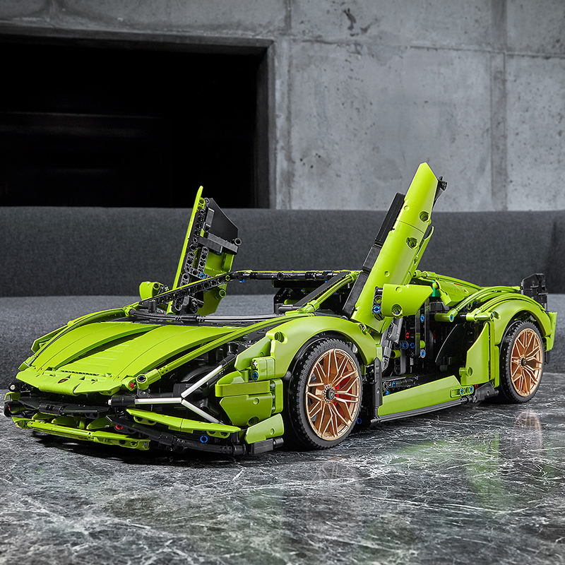 LEGO Technic Siêu Xe Lamborghini Sian FKP 37 42115 (3696 mảnh ghép)