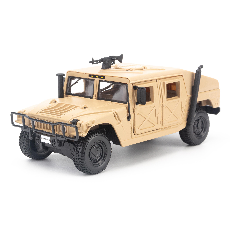 Mô hình xe HUMMER HUMVEE MILITARY DESERT SAND 1:27 MAISTO MH-31974