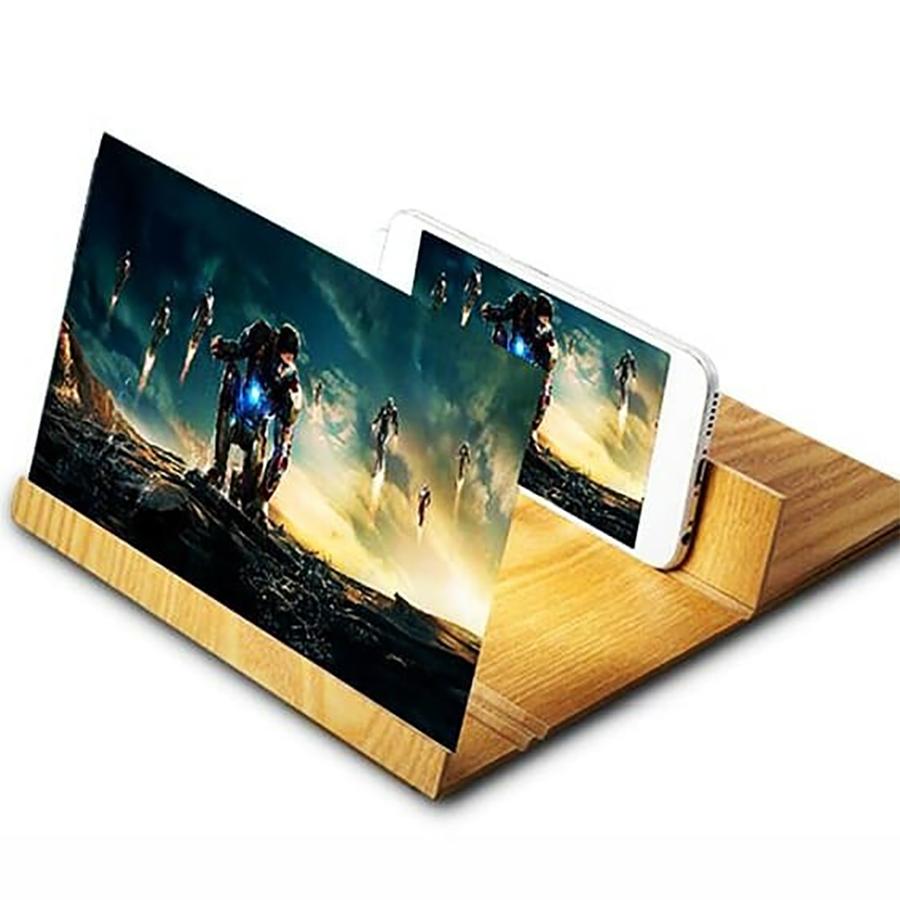 Kính phóng đại 4D màn hình điện thoại Cỡ lớn 12inch - Hàng chính hãng