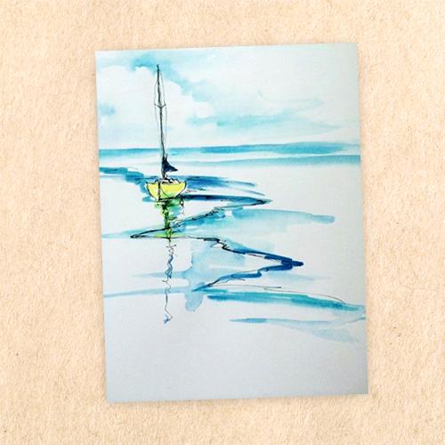 Giấy vẽ màu nước - có vân khổ lớn (3 tờ/túi)