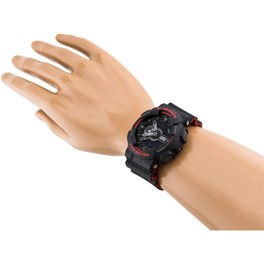 Đồng hồ nam dây nhựa Casio G-Shock chính hãng GA-110HR-1ADR