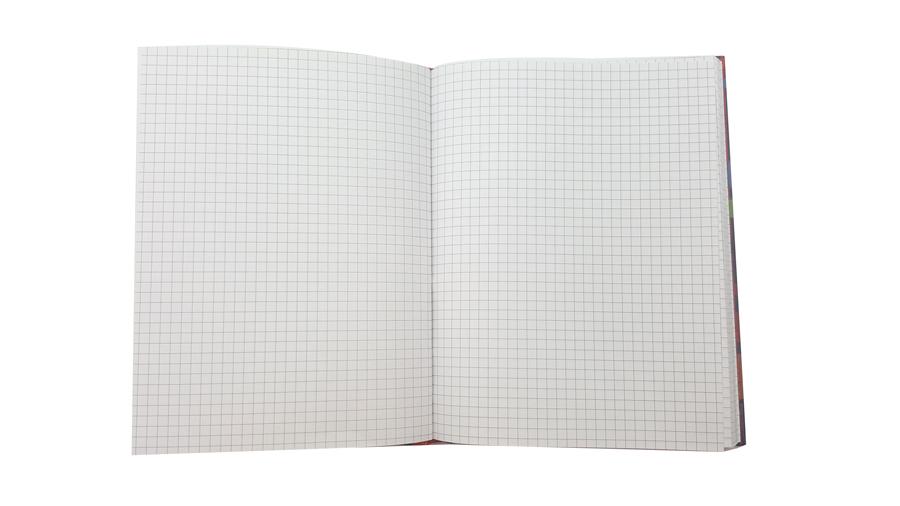 Sổ Caro 240 Trang Khổ 16X21Cm