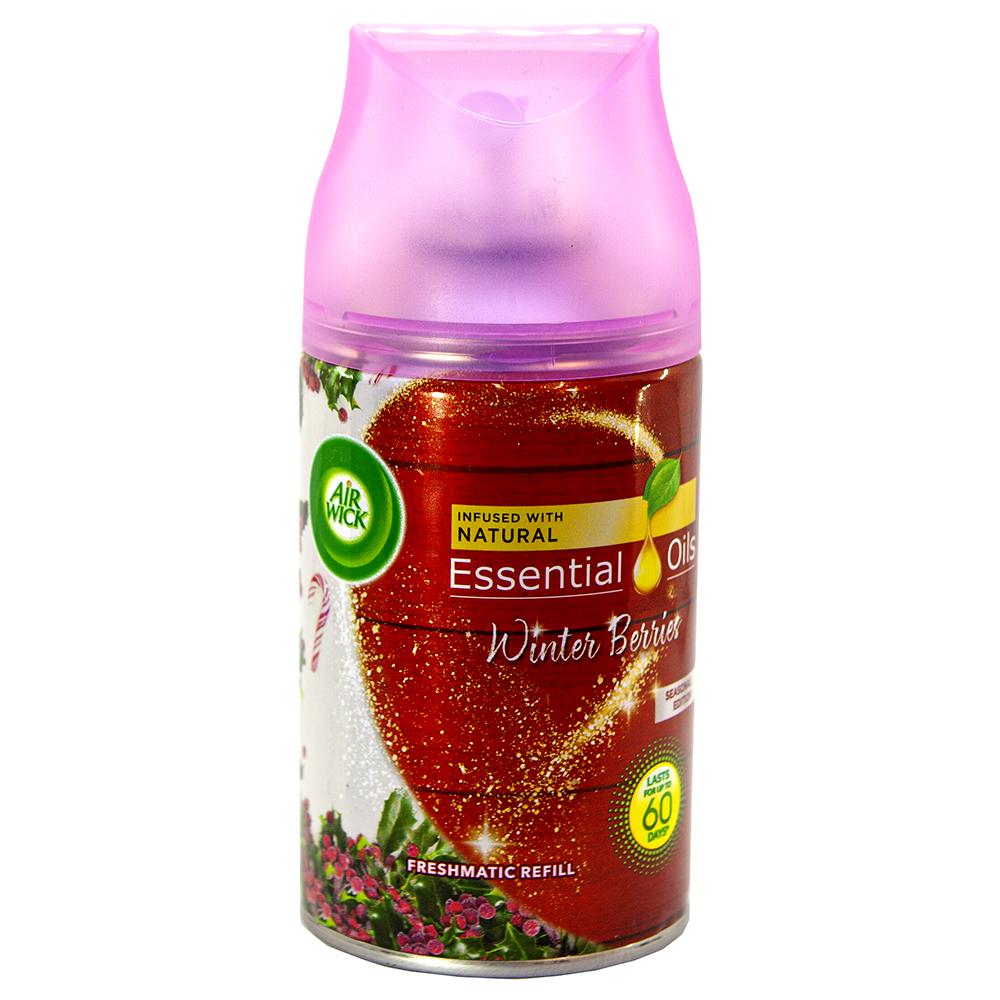 Bình xịt tinh dầu thiên nhiên Air Wick Winter Berries 250ml QT06516 - hương quả ngọt