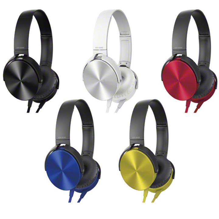 TAI NGHE CHỤP TAI MRD-XB450AP Âm thanh cao cấp,thiết kế thời trang- màu ngẫu nhiên