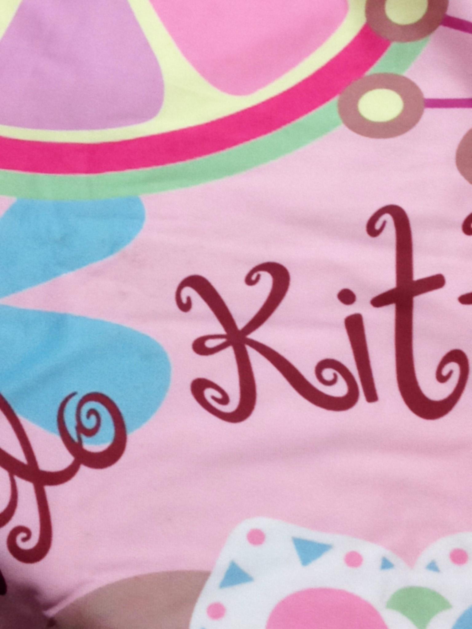 Bộ chăn gối hình Kitty cho bé 3-5 tuổi