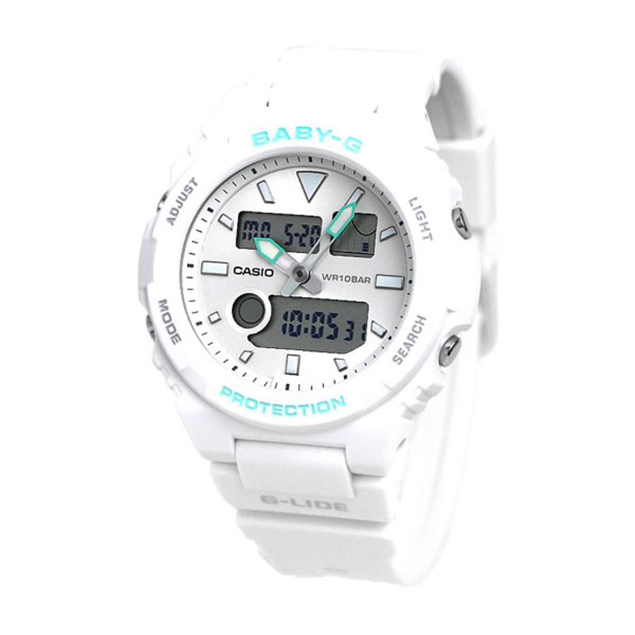 Đồng hồ nữ dây nhựa Casio Baby-G chính hãng BAX-100-7ADR