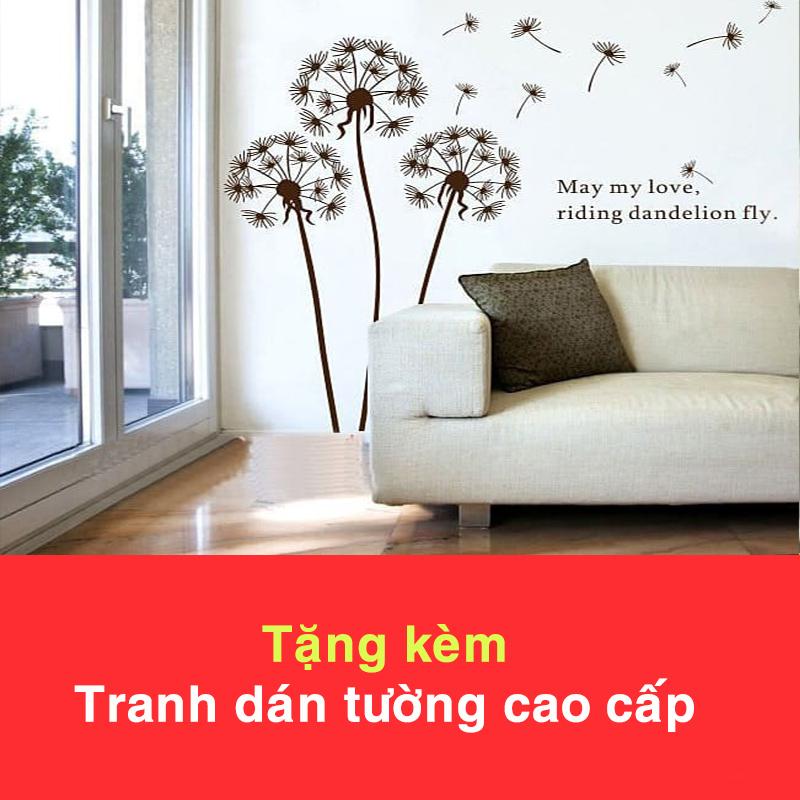Đồng Hồ Treo Tường DL118 (Tặng Decal Cây và Chim T15)