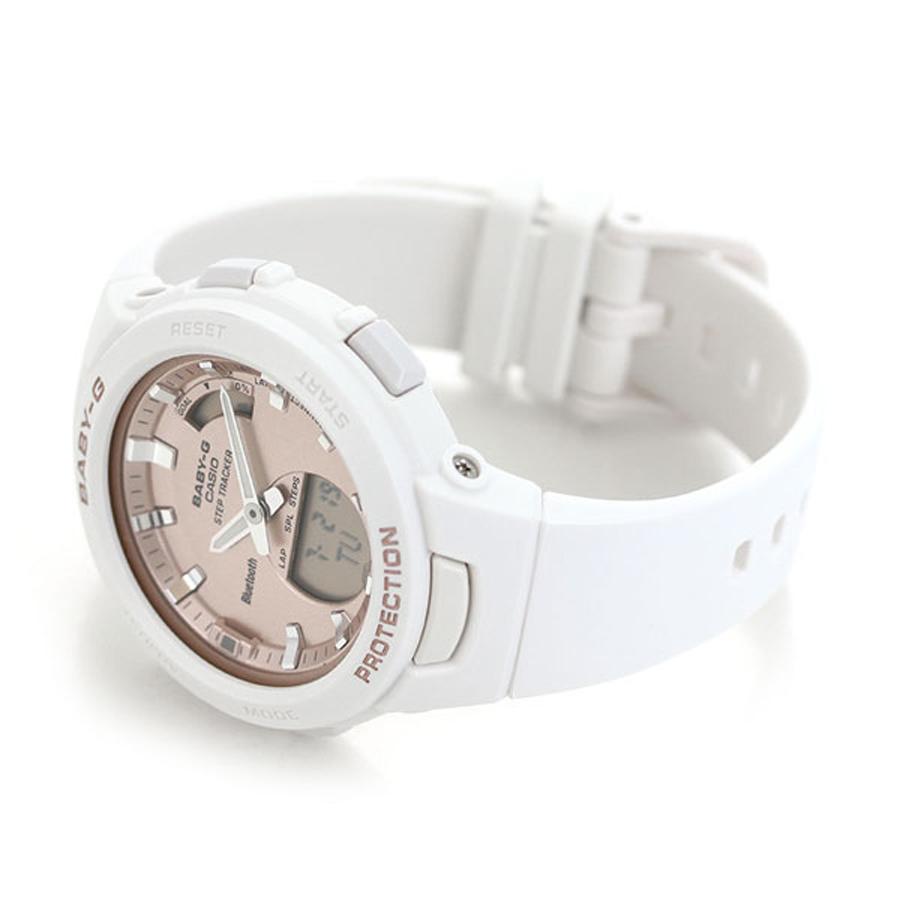 Đồng hồ nữ dây nhựa Casio Baby-G chính hãng BSA-B100MF-7ADR
