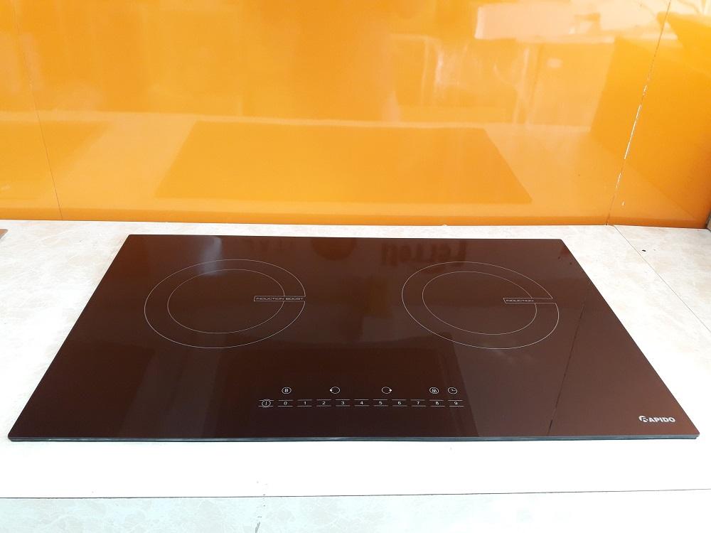 Bếp từ đôi Rapido RI4000BN tặng bộ nồi cao cấp- Hàng chính hãng
