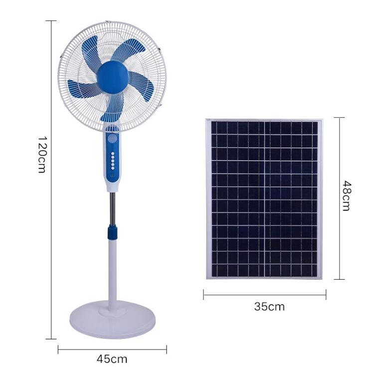 Quạt Tích Điện Năng Lượng Mặt Trời Cao Cấp S888
