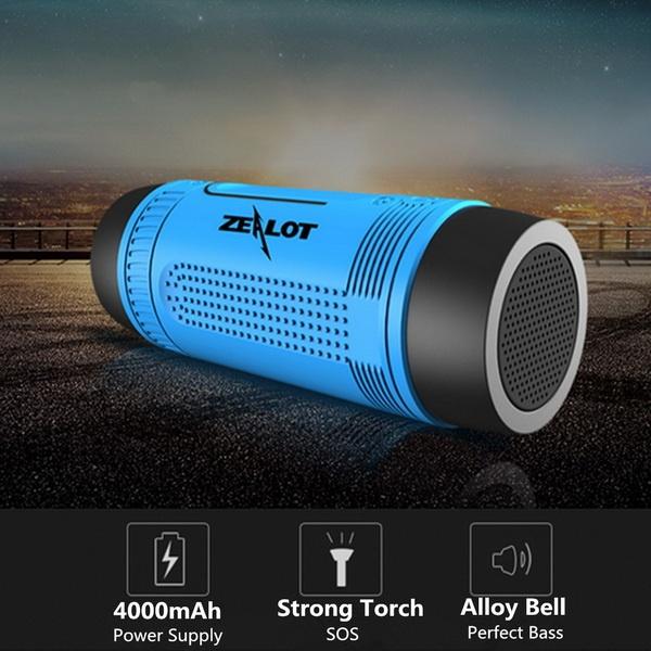 Loa Bluetooth Kiêm Pin Sạc Dự Phòng Zealot S1 – Hàng Nhập Khẩu