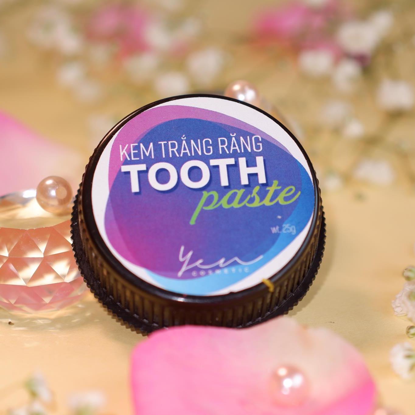 Bột tẩy trắng răng thảo mộc Tooth Paste