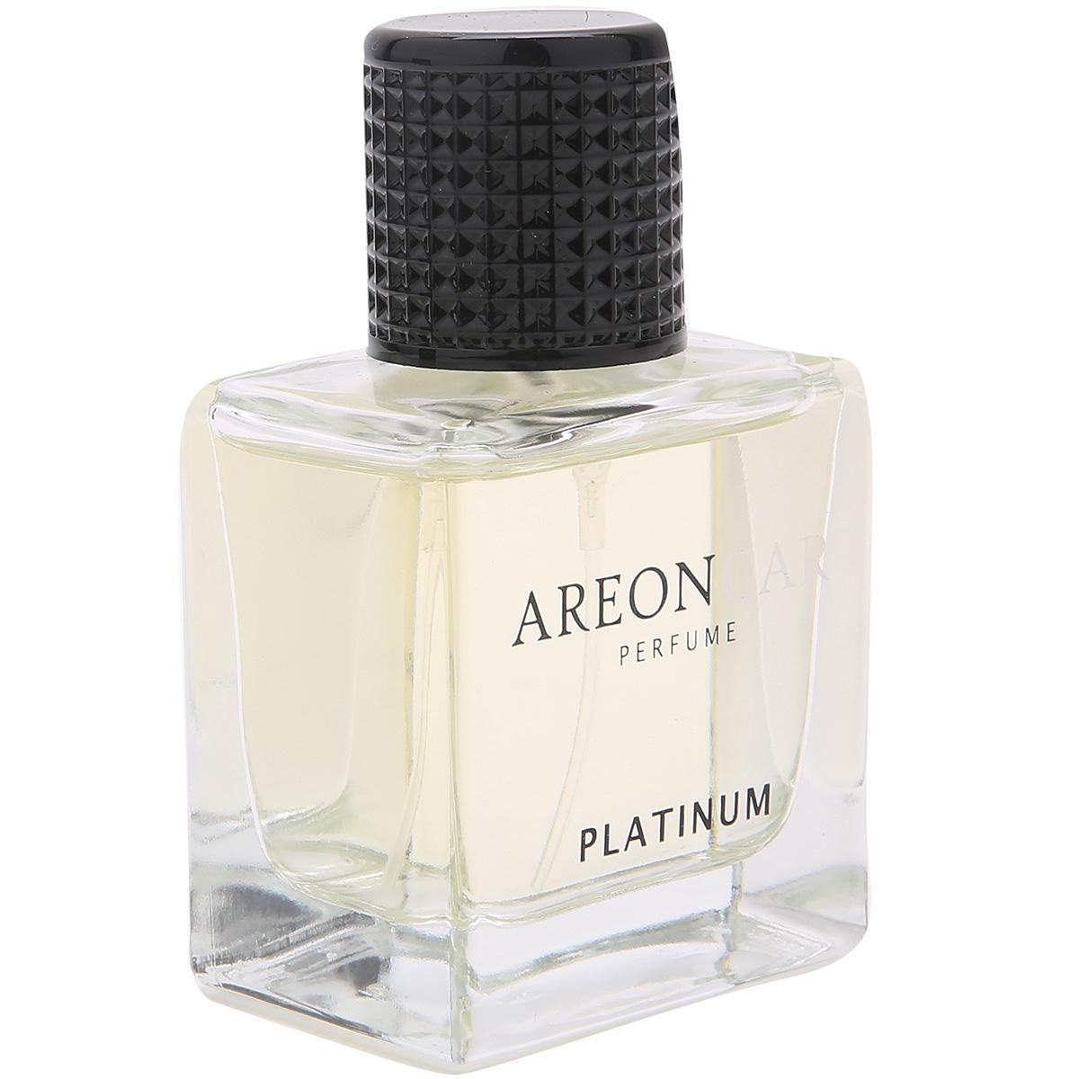 Nước hoa ô tô cao cấp AREON Car Platinum Perfume 50ml - NHẬP KHẨU BULGARIA