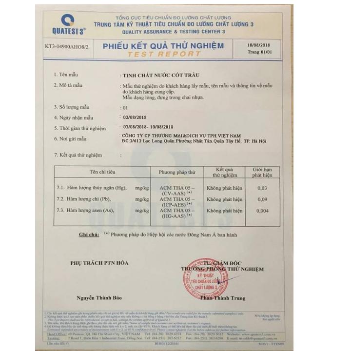 Combo 2 Tinh chất nước cốt trầu Thiên Phú 50ml - nước cất lá trầu nguyên chất