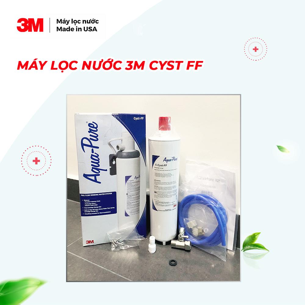 Combo Máy Lọc Nước 3M AP Easy Cyst FF + Vòi Teka IN912 - Lưu lượng nước 5,7 Lít/phút - Công suất lọc 7.571 Lít - 3M Product Number 5609223 - Hàng Chính Hãng 3M