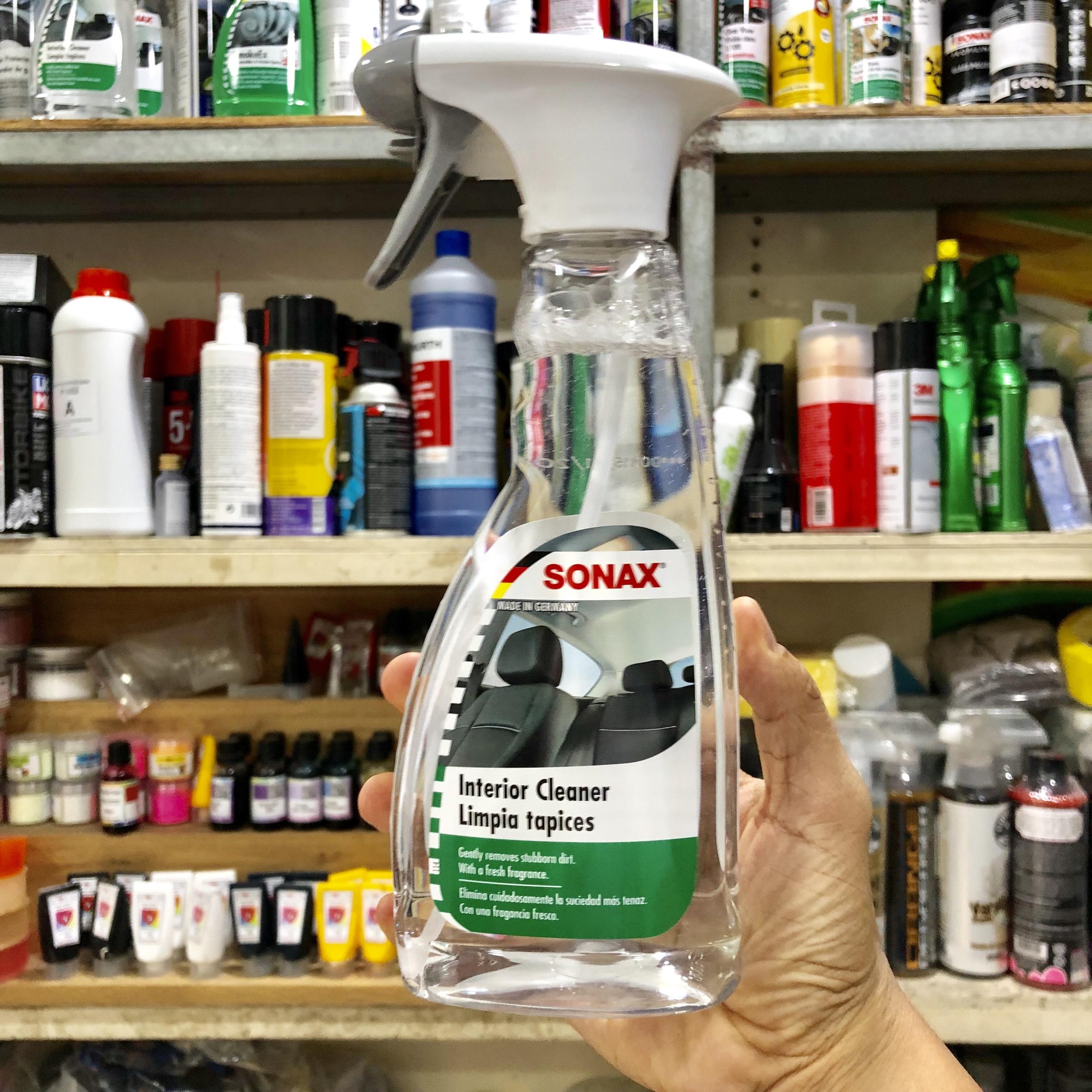 Dung dịch vệ sinh nội thất xe Sonax 321200 500ml