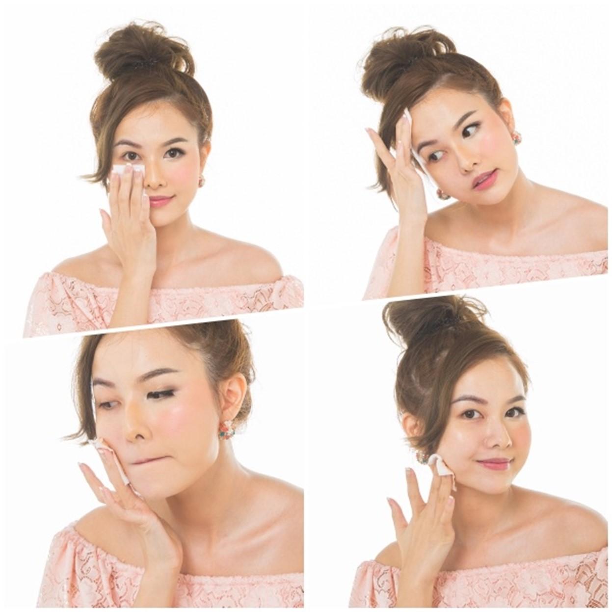 Nước Tẩy Trang Byphasse Micellar Make-up Remover 500ml + Tặng Túi Bông Tẩy Trang Ipek 80 Miếng