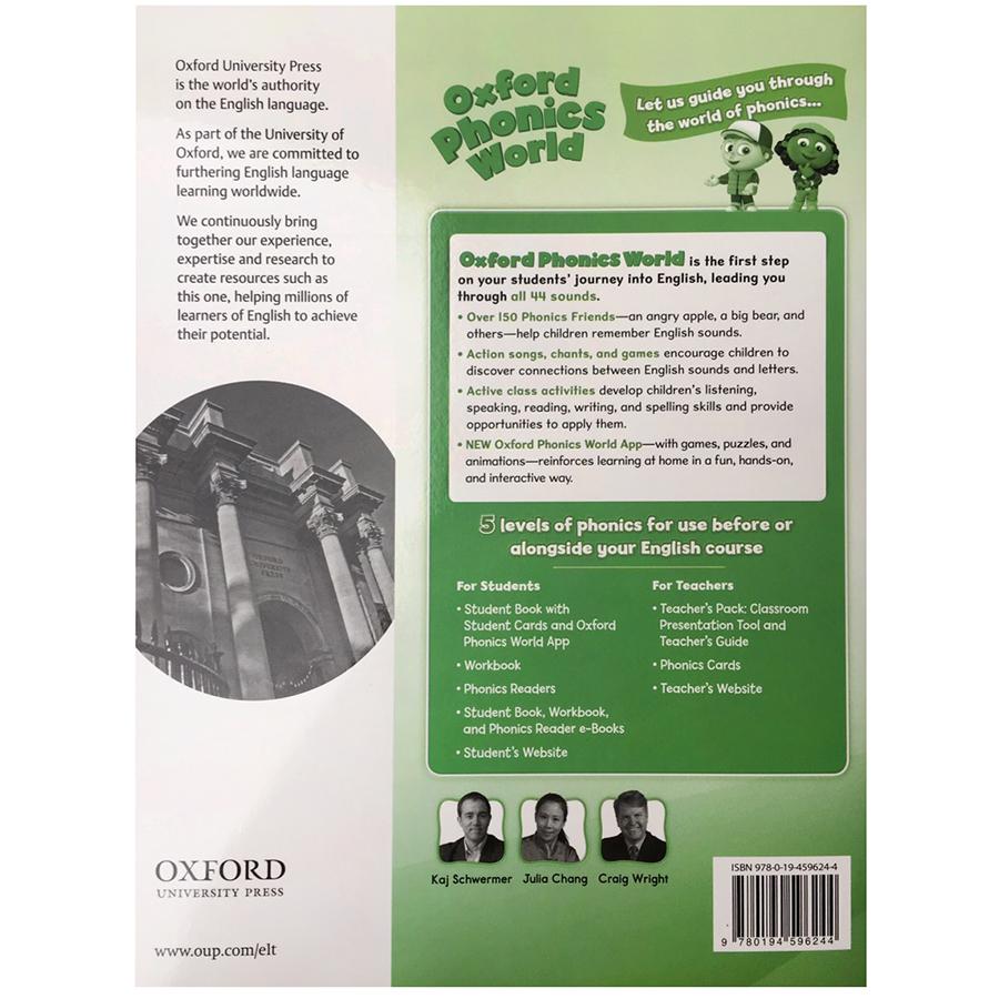 Oxford Phonics World 3 Workbook
