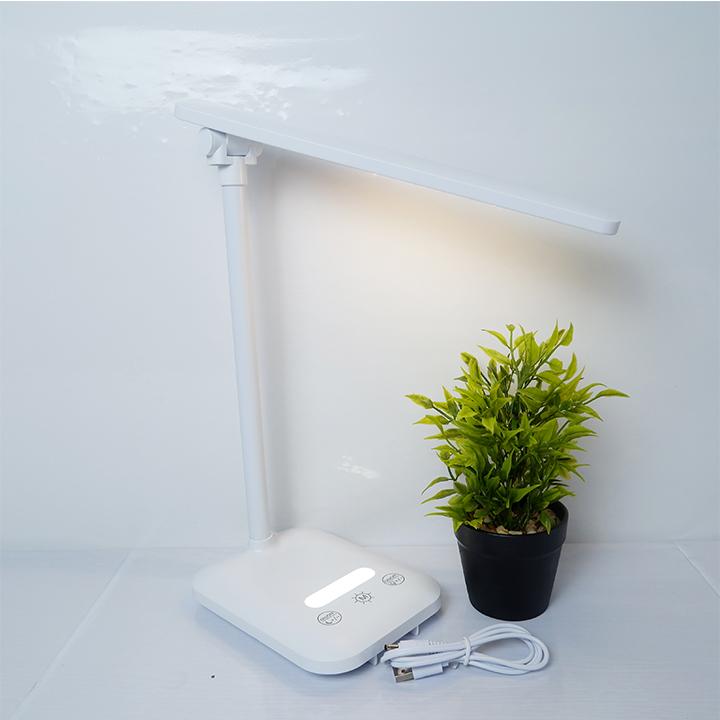 Đèn Bàn Học USB Di Động H118 - Đèn Học Chống Cận - Đèn Đọc Sách Sinh Viên Học Sinh. Cao Cấp – 03 Chế Độ Ánh Sáng Vàng Bảo Vệ Mắt Chống Cận Có Chế Độ Đèn Ngủ - Hàng chính hãng