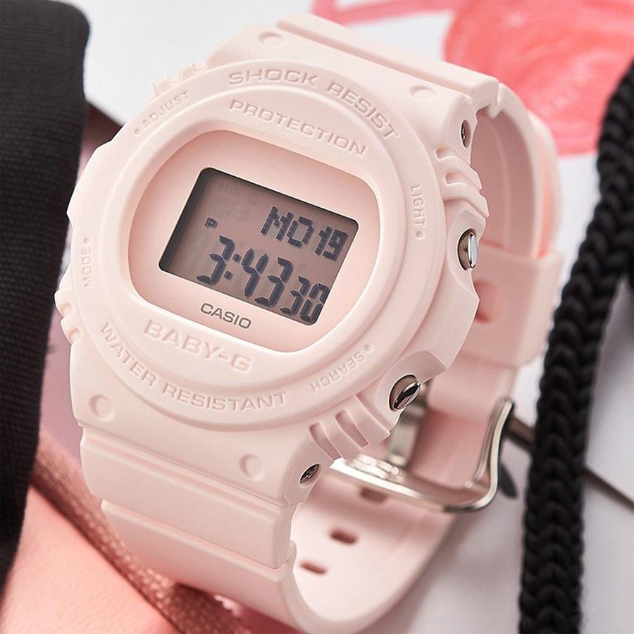 Đồng hồ nữ dây nhựa Casio Baby-G chính hãng BGD-570-4DR