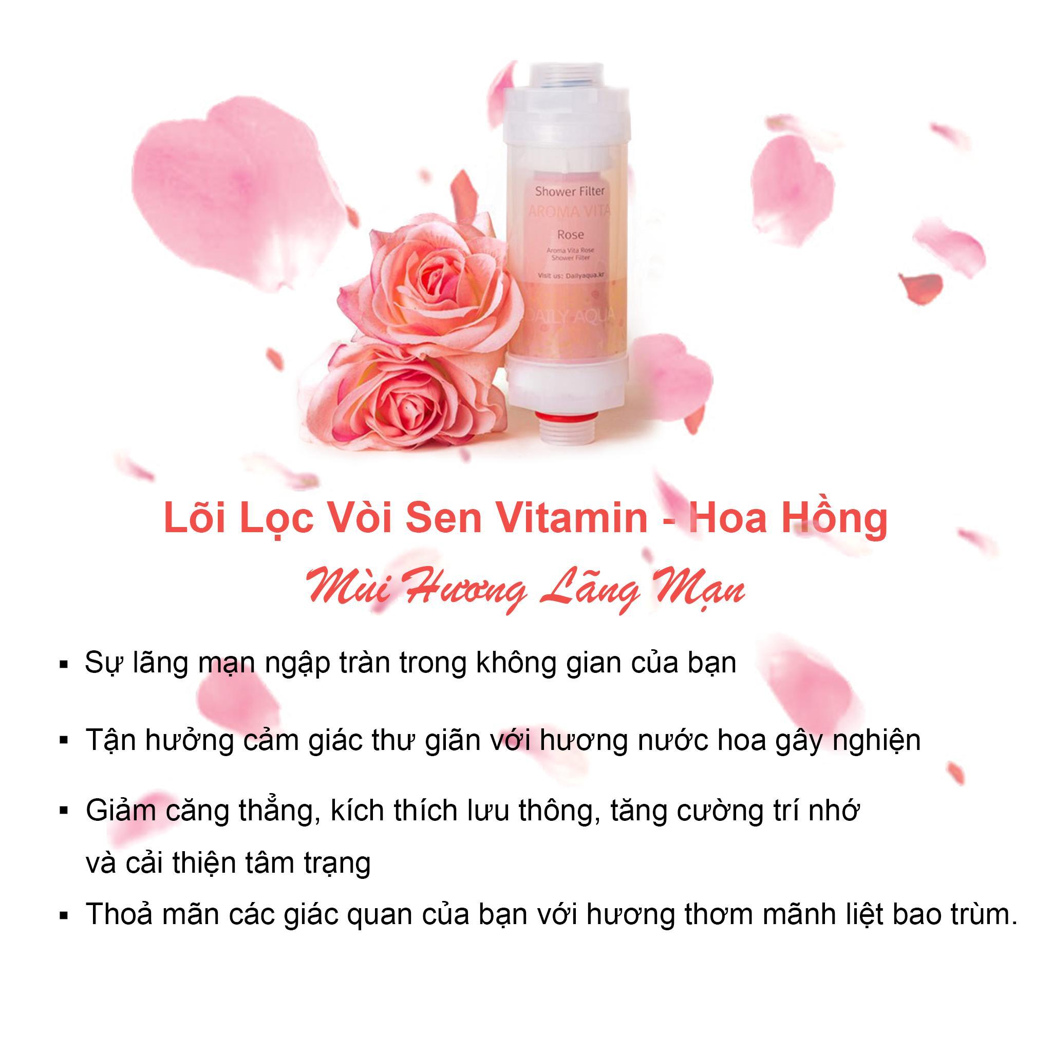 Bộ Lõi Lọc Nước Vòi Sen Vitamin C Daily Aqua