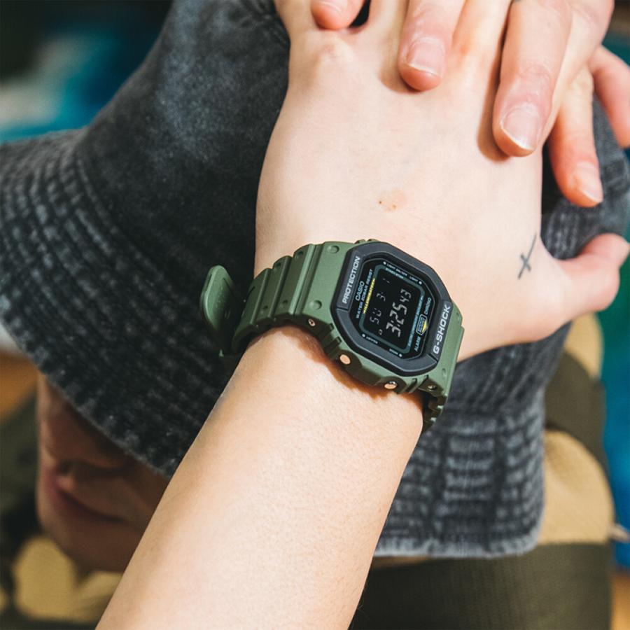 Đồng hồ nam dây nhựa Casio G-Shock chính hãng DW-5610SU-3DR