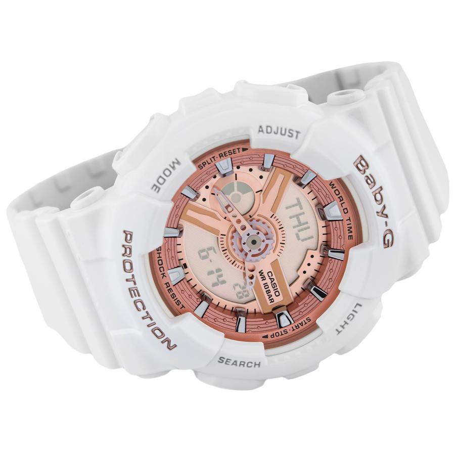 Đồng hồ nữ dây nhựa Casio Baby-G chính hãng BA-110-7A1DR