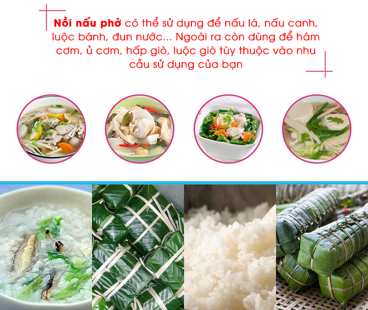 Nồi Nhúng Trần Bánh Phở Điện Liền NEWSUN 20L - Hàng Chính Hãng