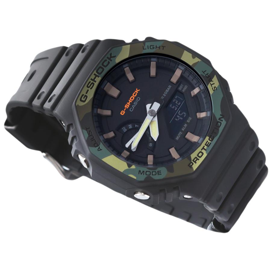Đồng hồ nam dây nhựa Casio G-Shock chính hãng GA-2100SU-1ADR