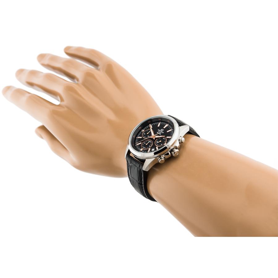 Đồng hồ nam dây da Casio Edifice chính hãng EFR-527L-1AVUDF