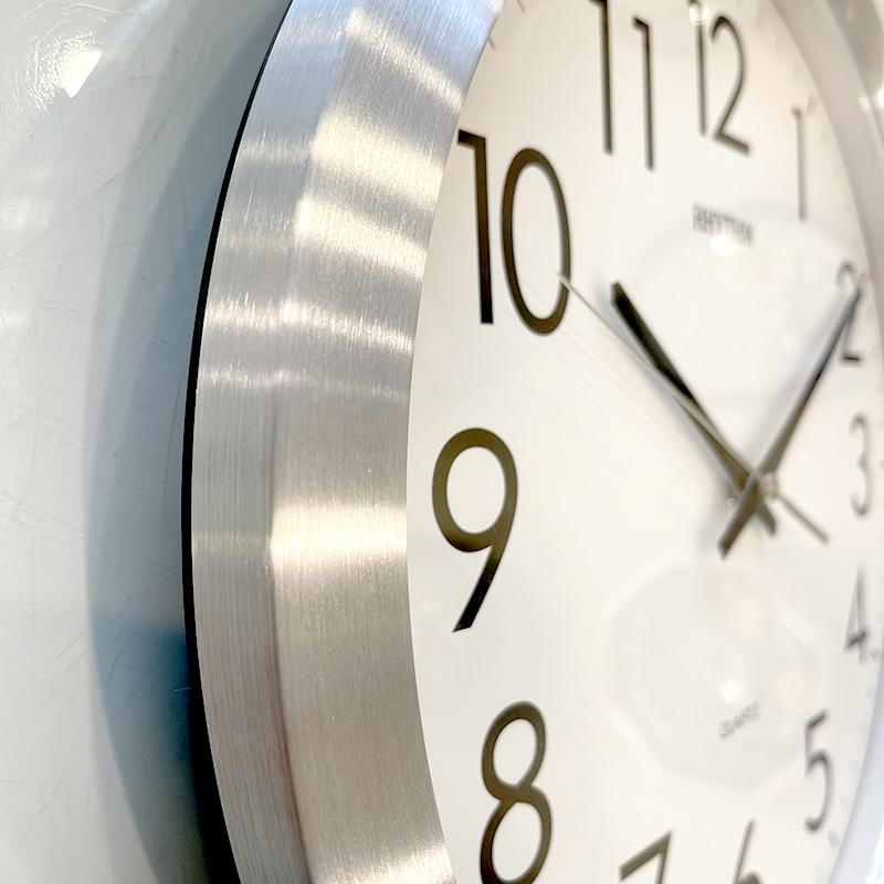 Đồng hồ treo tường hiệu RHYTHM - JAPAN CMG809NR19 (Kích thước 35.0 x 4.5cm)