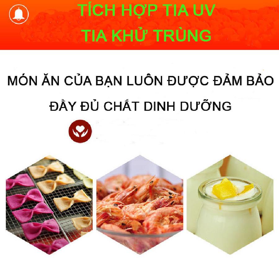 Máy sấy khô thực phẩm Septree 6 khay - Hàng nhập khẩu