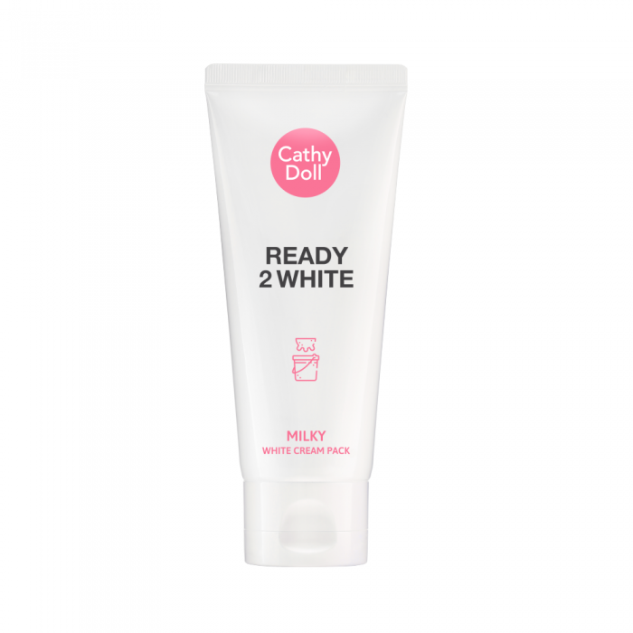 Mặt nạ ủ trắng da Cathy Doll Ready 2 White Milky White Cream Pack 100ml