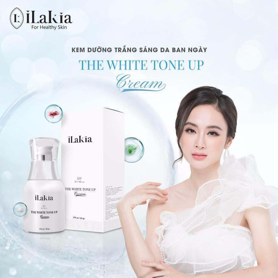iLakia - Kem Dưỡng Face Tổ Yến THE WHITE TONE UP - Trắng Hồng Tự Nhiên – Dùng Ban Ngày - 30g KOREA