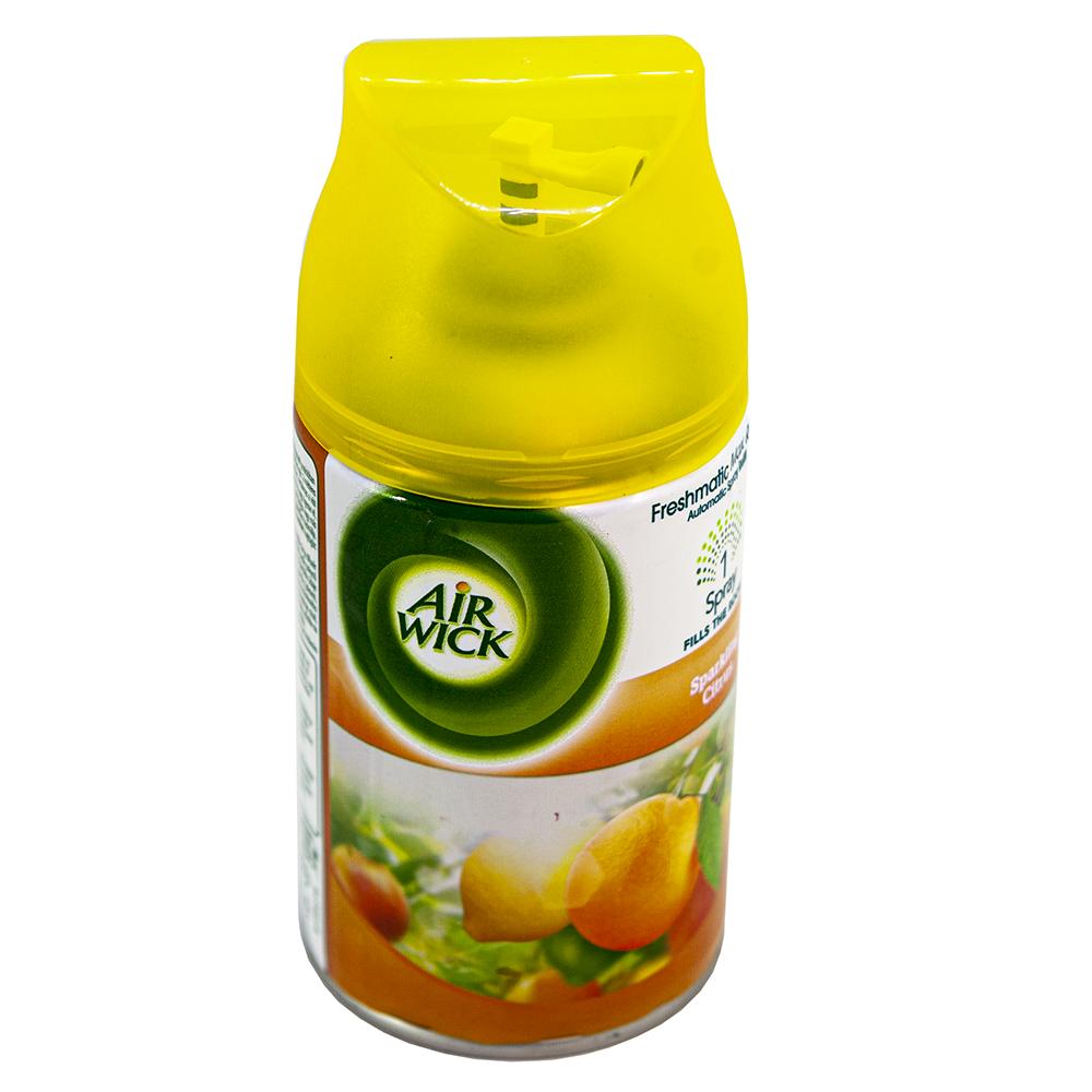 Bình xịt tinh dầu thiên nhiên Air Wick Sparkling Citrus 250ml QT006534 - hương cam tươi