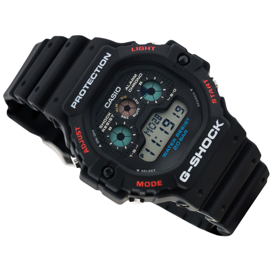Đồng hồ nam dây nhựa Casio G-Shock chính hãng DW-5900-1DR