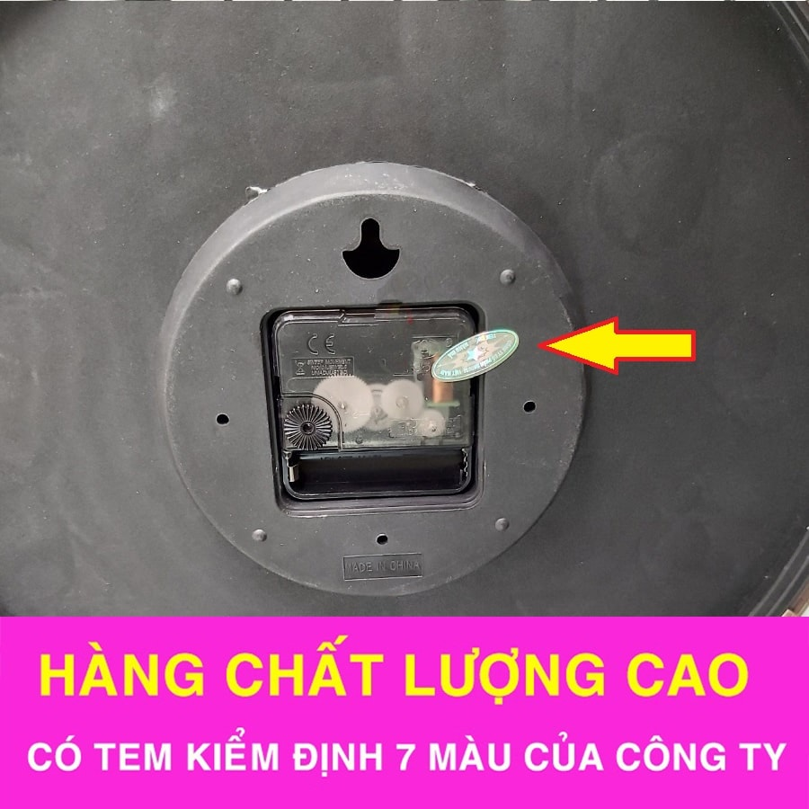 Đồng Hồ Treo Tường Đẹp A91
