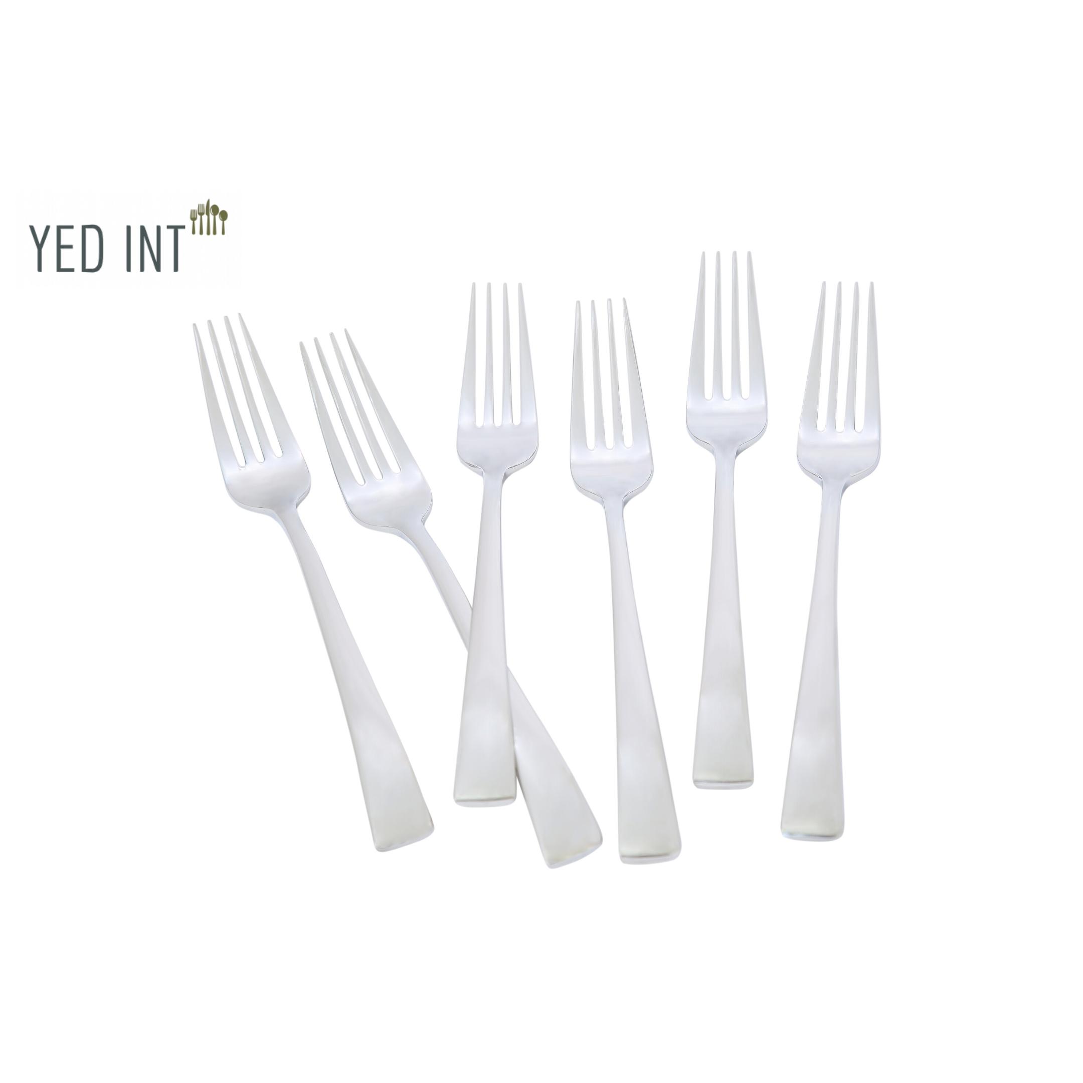 Bộ 6 Nĩa Ăn Thép Không Gỉ Cao Cấp Inox 304 18/10 Bouscoe Nĩa Chính Stainless Steel 304 18/10 Table Fork