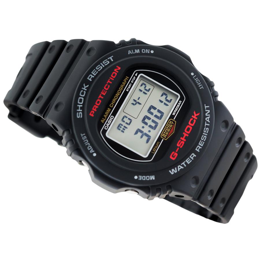 Đồng hồ nam dây nhựa Casio G-Shock chính hãng DW-5750E-1DR