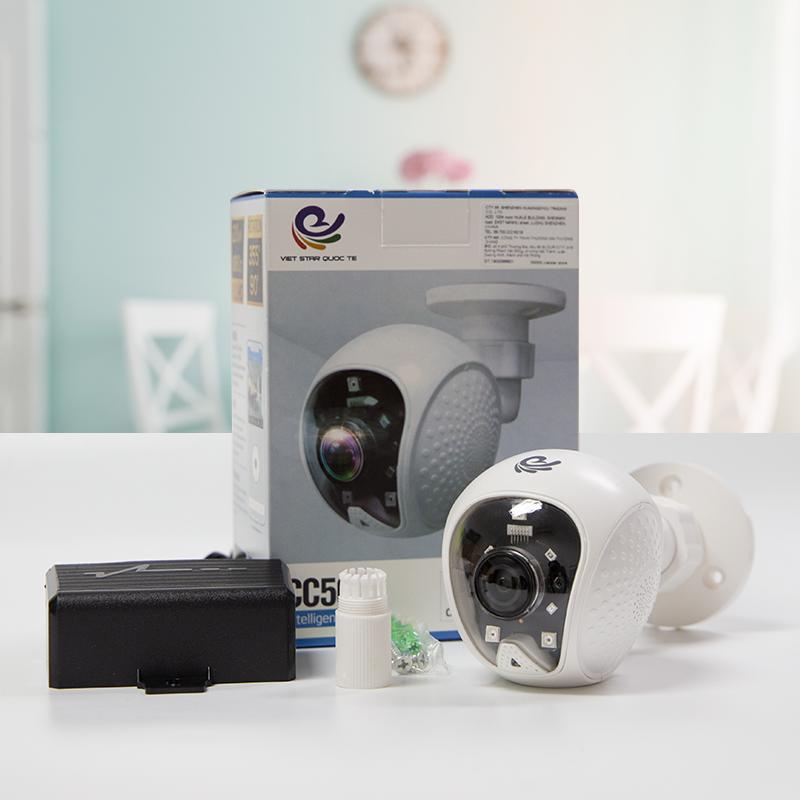 [ TẶNG THẺ 32GB ] Camera Ip Quan Sát Cố Định CC5021 Trong Nhà 1080P - Xem Ở 2 Chế Độ HD / FULL HD, Kèm Thẻ Nhớ 32Gb - Chính Hãng