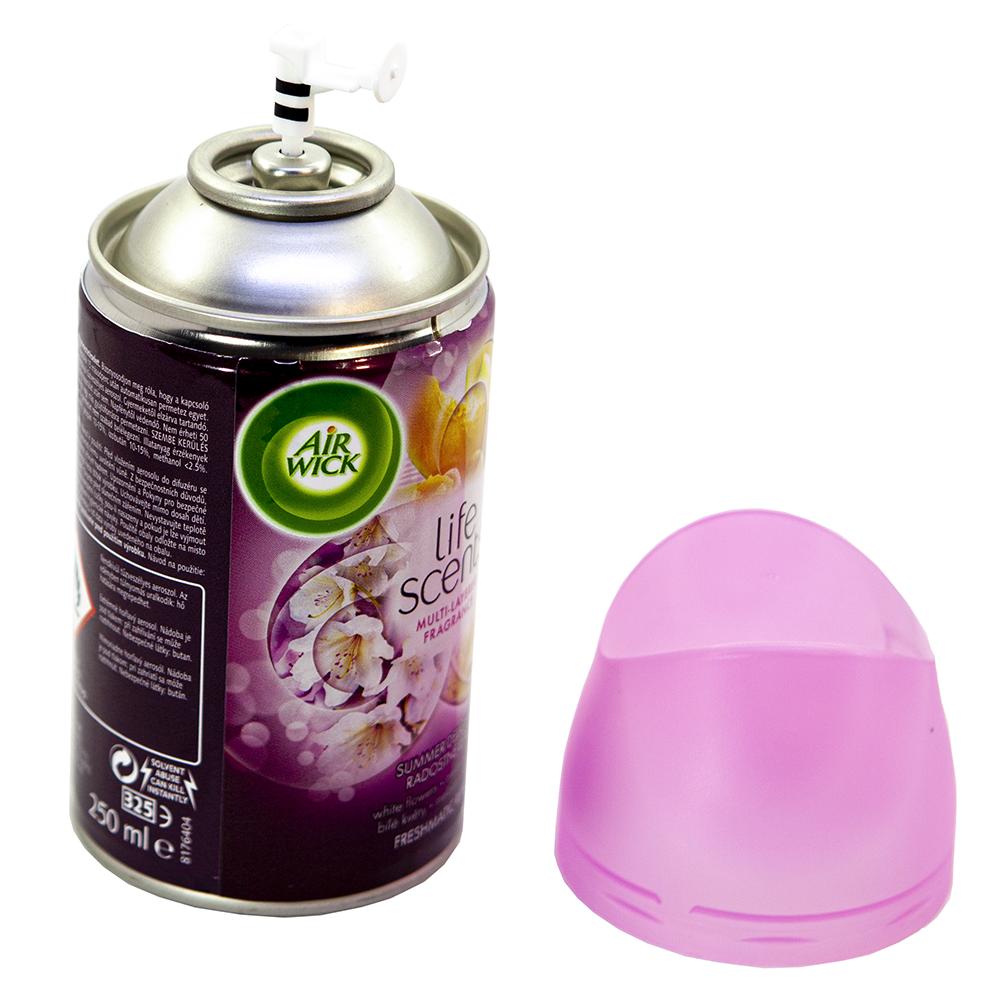 Bình xịt tinh dầu thiên nhiên Air Wick Summer Delights 250ml QT016833 - hoa lan trắng